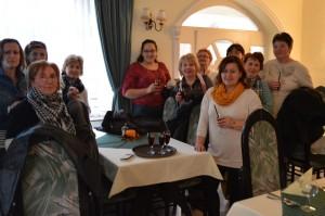 A Bodzavirág Népdalkör 15. születésnapján megjutalmazta magát egy wellness hétvégével. Gosztola, 2014.11.21.-22.